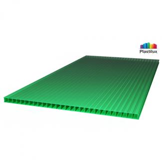 Сотовый поликарбонат SUNNEX зелёный 2100х12000х10мм