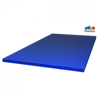 Сотовый поликарбонат SUNNEX синий 2100х6000х8мм
