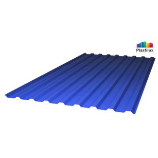 Прозрачный шифер стандарт МП-20 (У) синий 1,15х2м