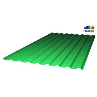 Профилированный поликарбонат SUNNEX МП-20 (У) 0,8мм зелёный 1,15х2м
