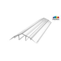 Поликарбонатный профиль ROYALPLAST HCP-U крышка прозрачный 4-10мм 6000мм