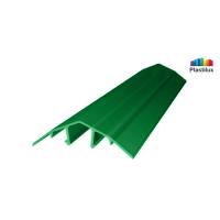 Поликарбонатный профиль ROYALPLAST HCP-U крышка зелёный 4-10мм 6000мм
