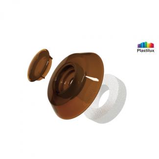 Термошайба для поликарбоната УП1000 бронза D=40мм