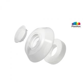Термошайба для поликарбоната УП500 белый-матовый D=40мм