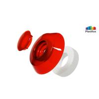 Термошайба для поликарбоната УП500 красный D=40мм