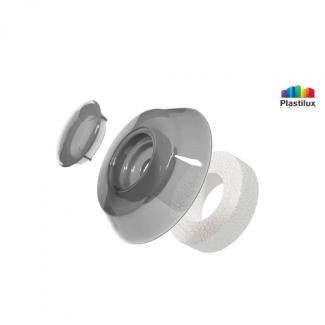 Термошайба для поликарбоната УП500 серебро D=40мм